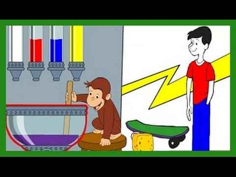 Curious George - Mix and Paint - Curious George Games - PBS KIDS