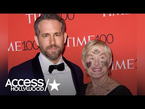 Ryan Reynolds Trolls His Mom! Face Tattoos for 'Deadpool 2' at Brazil Comic-Con | Access Hollywood
