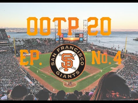 OOTP 20 San Francisco Giants Ep. 4: 2020 OPENING DAY ROSTER