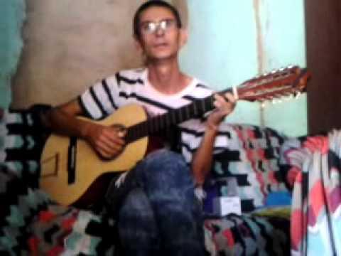 Silvano tocando viola em Iporá go