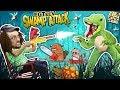 Download Video CROCODILE SWAMP!  Animals R Attakkin Meh! (FGTEEV Funny Gameplay/Skit)