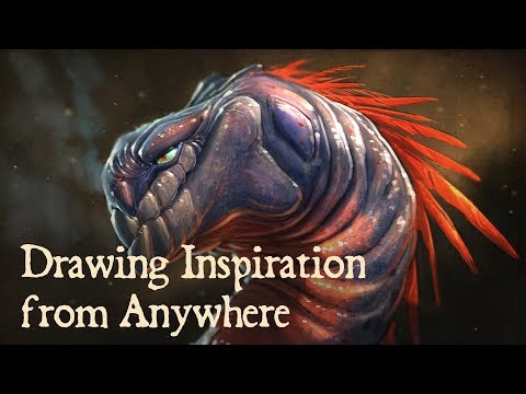 Live Stream - Drawing Inspiration From Anywhere