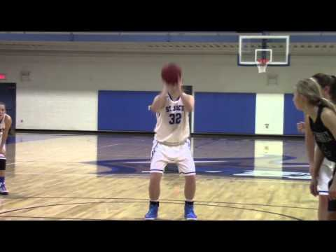 Women's Basketball Home Opener 2015-16 Highlights