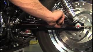 9. Harley Davidson Maintenance Tips: Sportster Motorcycles - Rear Wheel Alignment