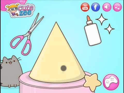 Cute Zee : Pusheens Birthday Party ( Play Girls Games)