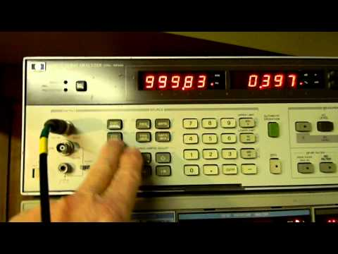 8903 - More information on the HP 8903A Audio Analyzer.