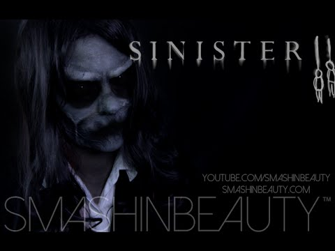 Sinister 2 Bughuul Mask SFX Halloween Makeup Tutorial