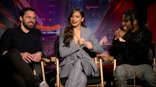 'Spider-Man: Into The Spider-Verse' | Unscripted | Shameik Moore, Hailee Steinfeld, Jake Johnson