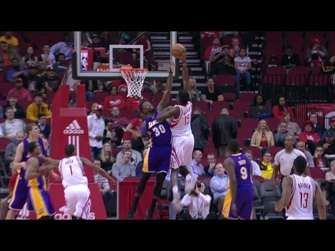 Clint Capela One Hand Jam on Randle