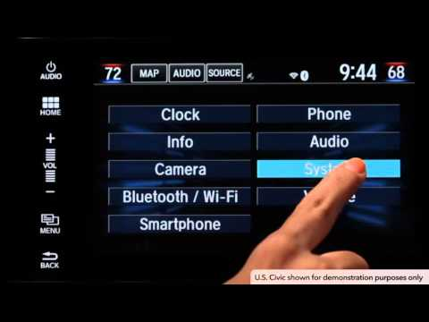 Honda Technology - Driver Information Interface