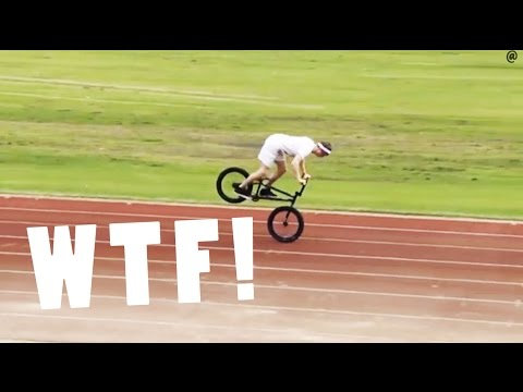Longest Nose Manual ever!? 2013 - Mike Curley BMX