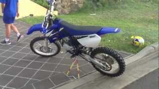 4. Yamaha YZ85 Walkaround & Start-Up  & Ride VERY CLEAN BIKE