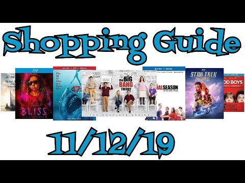 New Blu-Ray, DVD Shopping Guide and Reviews for 11/12/19