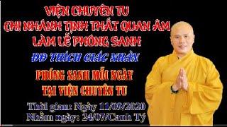 Phóng Sanh Tại Viện Chuyên Tu ngày 11/09/2020 - Tập 14