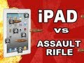 New iPad vs Assault Rifle: Tech Assassin HK53