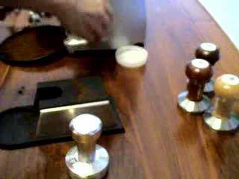 Ergo packer Espresso Tamper