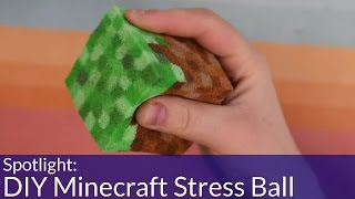 How To Make A DIY Minecraft Stress Toy