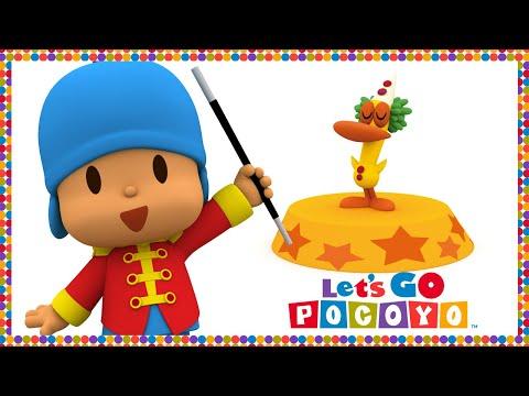 Pocoyo português Brasil - Let's Go Pocoyo! - O Circo [Episódio 45] em HD
