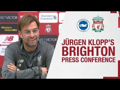 Video: Jürgen Klopp's pre-match press conference | Brighton