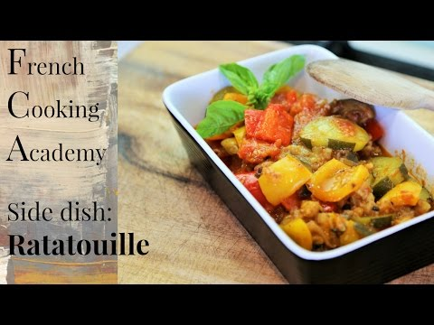 The Classic French Ratatouille - (goes Great With Many Dishes)