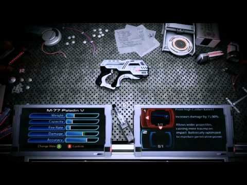 Mass Effect 3: Build a Customizable Arsenal Video