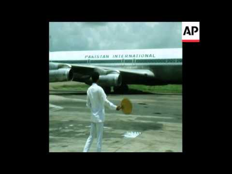 Video SYND 28 6 74 PAKISTANI PRIME MINISTER ARRIVES IN BANGLADESH download in MP3, 3GP, MP4, WEBM, AVI, FLV January 2017