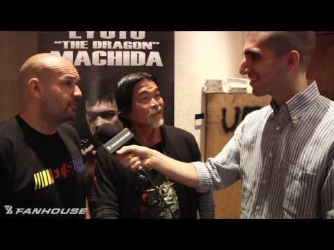 Lyoto Machidas Father Drinks His Own Urine at UFC 113