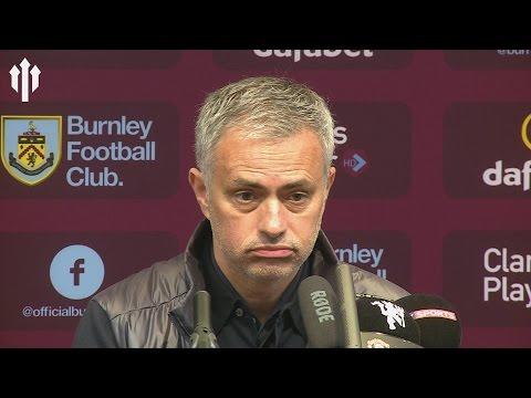 Jose Mourinho: My Crazy Mentality! Burnley 0-2 Manchester United PRESS CONFERENCE (видео)