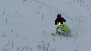 7. Ski-Doo Freeride 2015 Rippin Ontario Pow!