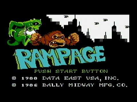 Rampage NES