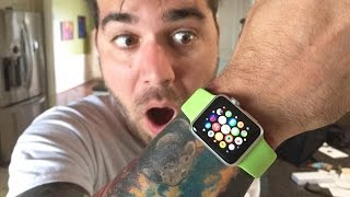 GOT THE APPLE WATCH!!
