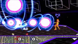 Someone hacks melee and replaces Fox's lasers with Samus's charge shot