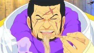One Piece Episode 736 Scene  - AKAINU VS FUJITORA! ENG [HD]