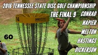Morristown (TN) United States  city photos : 2016 Tennessee State Disc Golf Championship: Final 9 (Conrad, Napier, Melton, Hastings, Dickerson)
