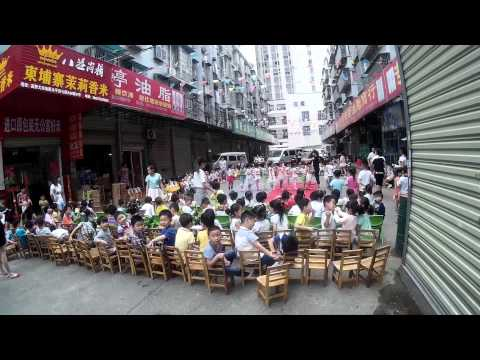 Chinese children dance part of the education system