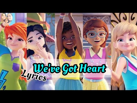 We've got heart lyrics | Lego Friends girls on a mission | With song from the MV; Piqses Heart 💕