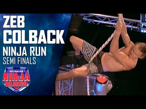 Zed Colback (Semi Final) | Australian Ninja Warrior 2018 - Thời lượng: 6 phút, 15 giây.