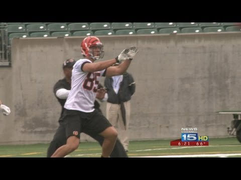 bengals - Tyler Eifert, John Goodman Open Rookie Camp With Cincinnati Bengals.