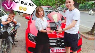 Mẹ Mai Mua Mercedes E250 2,5 Tỉ Chở Mật Đi Chơi-  6 Năm Đổi 3 Chiếc Xe ^^