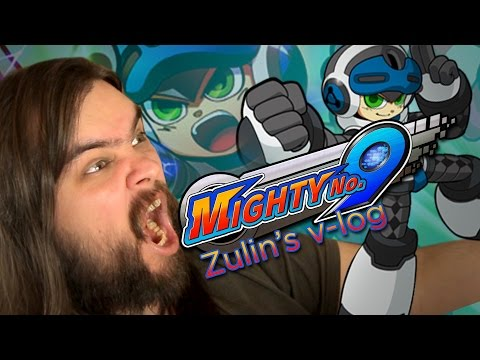 Mighty No. 9 - Обзор Zulin's v-log