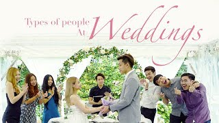 Video Types Of People At Weddings MP3, 3GP, MP4, WEBM, AVI, FLV Februari 2019