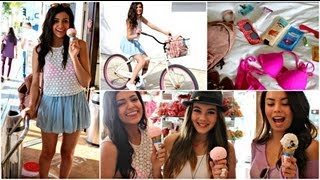 Spring sweat proof hair/makeup, outfits + my beach essentials! - YouTube