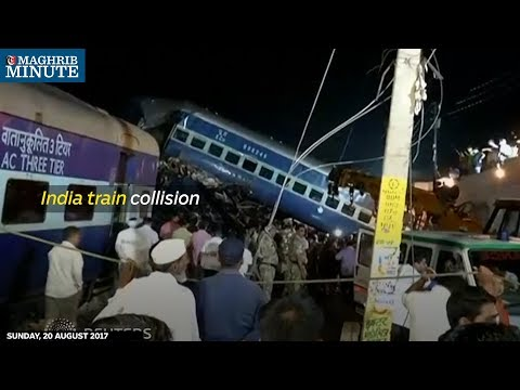 Death toll after the massive train collision in UP has risen to 23