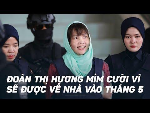 Nụ cười của Đoàn Thị Hương khi được Malaysia trả tự do sau 2 năm tù tội - Thời lượng: 1:29.