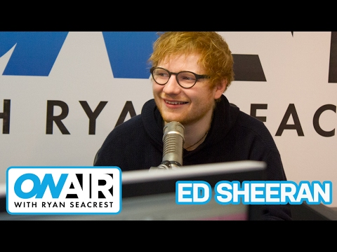 Ed Sheeran Could Not Get In To the GRAMMYs After Party   On Air with Ryan Seacrest