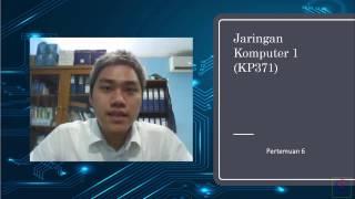 Penjelasan materi mata kuliah jaringan komputer 1 (KP371) pertemuan ke 6 materi : Network layer, karakteristik protokol IPv4 dan IPv6, proses routing pada host dan router