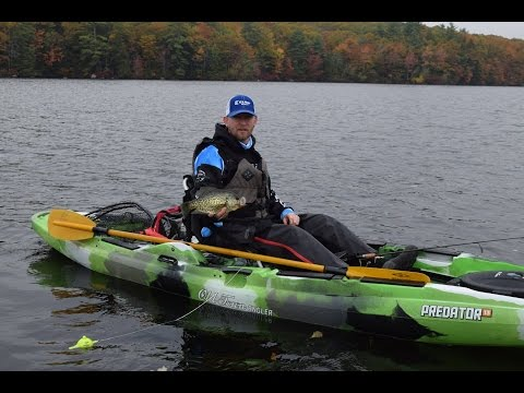 Episode 1: New Hampshire Fall Kayak Crappie Fishing