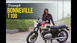 4. Triumph Bonneville T100 Review | Express Drives