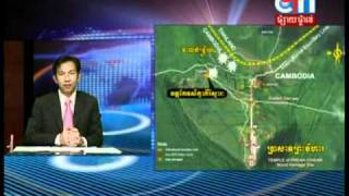 Cambodia And Thailand News, Cambodian And Thai Army Fighting Along The Border ( February 5, 2011 )