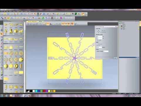 08 – Creating a more complex 3D plaque in the ArtCAM for Education software